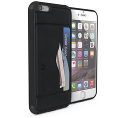 Ghostek Stash - iPhone 6 Wallet Case w/ Tempered Glass