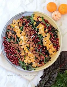 Simple Hearty Winter Green Salad who said salad is only for summer?! My absolute favorite winter salad!