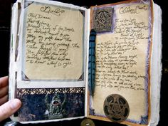 ༺✯ A Natural Witch- Grimoire of Life and Practice: Altered Art: Book of Shadows ✯༻