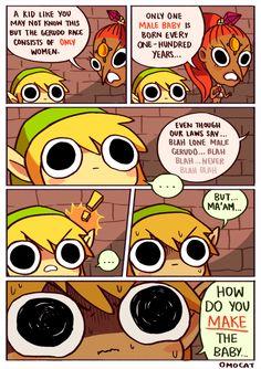 Link and Nabooru - The Legend of Zelda: Ocarina of Time