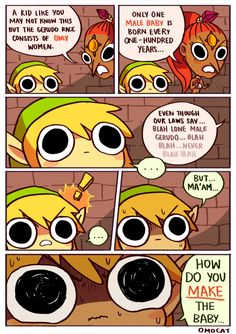 Link Ponders the Mystery of Gerudo Sex