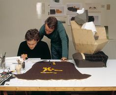 The two renowned designer brothers, Ronan & Erwan Bouroullec, discussing their latest projects.