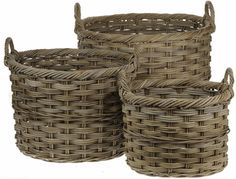Rattan Oval Log Basket - These rattan oval log baskets have a lovely rustic look to them which looks fantastic next to the fireplace. Woven in high quality, durable rattan with handles on either side they are perfect for holding and carrying your logs. Rattan, Wicker, Country Style Living Room, Things To Buy, Home Accessories, Hand Weaving, Rustic, Logs, Baskets