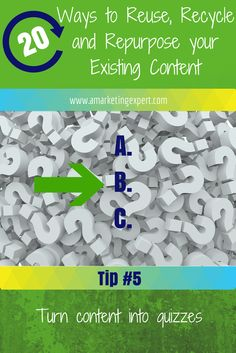 Reuse, Recycle and Repurpose Your Existing Content #marketing #googleplus #huffpo