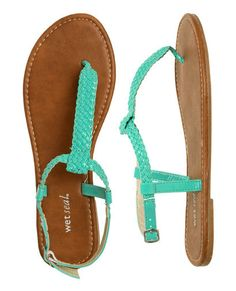 Leatherette Braided Sandal | Shop Shoes at Wet Seal