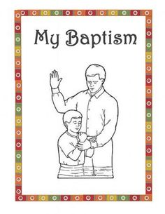 Baptism Booklet to give out at Its Great to Be 8