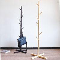 venta caliente de bricolaje de madera perchero de pie ecolgico muebles para el hogar colgar la ropa en forma de rbol perchero