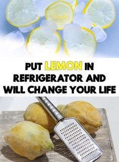 You can use lemon in many natural remedies, both for your beauty or health.Put Lemon In Refrigerator And Will Change Your Life!