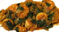 Shrimp & Spinach (Saag Prawn)