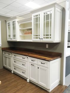 This Stunning Craft Art Wood Countertop And Eastman St. Woodworks Kitchen  Display Can Be
