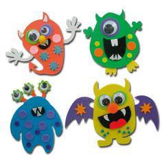 Hobbycraft Halloween Foam Monster Kit Makes 4 Felt Crafts Kids, Foam Crafts, Preschool Crafts, Craft Kids, Craft Supplies Online, Arts And Crafts Supplies, Hobbies And Crafts, Fairy Tale Crafts, Monster Crafts