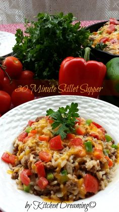 30 Minute Skillet Dinner - Kitchen Dreaming