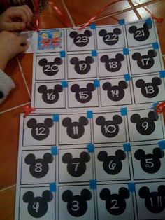 Free Printable Countdown to Disney Calendar