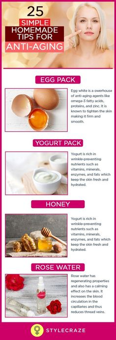 Young-looking skin is what we always dream of! Wrinkles, crow's feet, fine lines, laugh lines, and dark spots are the biggest nightmares of any woman. We can't run away from aging, but what we can do is delay it as long as possible with these do-it-at-home packs and masks.