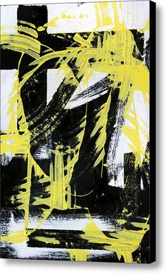 Industrial Abstract Painting Ii Canvas Print / Canvas Art By Christina Rollo
