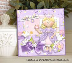 Cute Princess card for a fairytale birthday or friendship card. FQB - Fairytale Dreams Collection from Nitwit Collections™