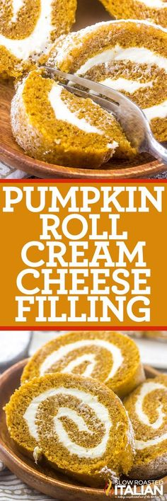 A Classic Pumpkin Cake Roll will never go out of style for your holiday treat! Easy, tasty and fun. It is the perfect dessert to end your holiday meal!