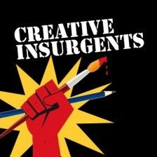Here's the link! It's a high-resolution download that will look great printed out or on your computer screen. Creative Insurgents Handbook (PDF, right click to download) Share on Tumblr