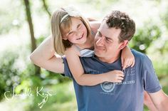 Children & Family Photography - father & daughter