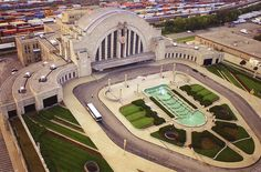 In 2007, Cincinnati Union Terminal was ranked #45 on the AIA 150 America's Favorite Architecture list. Description from skyscrapercity.com. I searched for this on bing.com/images