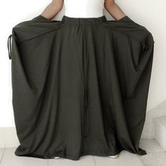 BIG SALE Ladies Convertible Pant Or Skirt Long and by thaisaket