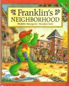 Franklin's Neighbourhood, written by Paulette Bourgeois and illustrated by Brenda Clark Community Helpers Kindergarten, Kindergarten Social Studies, School Community, Classroom Community, Teaching Social Studies, Student Teaching, Homeschool Kindergarten, Social Studies Communities, Communities Unit