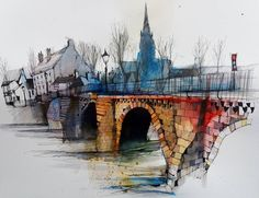 Fennelly Art (@ianfennelly) в Instagram: «Chester #olddeebridge #riverdee #handbridge #urbansketch #usk #pensketch #penandink #sketch #archisketcher #sketchaday #sketchwalker #sketchcollector #artbook #artjournal #traveldiary #topcreator #usk #urbansketchers #urbansketch #скетчбук #скетч #скетчинг #pleinair #aquarelle #watercolorsketch #usk #architecture