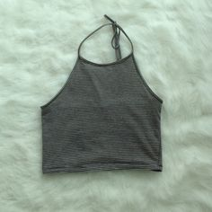 Striped Sachi Halter Brandy Melville. Small. No stains or flaws. No trades. Brandy Melville Tops Crop Tops