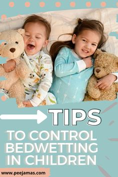 Worried about your child wetting the bed? We have ways to help you stop the bedwetting. Check out our favorite tips for clever solutions to stop bedwetting in kids. Now that your toddler is potty trained, wouldn't it be nice to be done with diapers once and for all? So which strategies work to stop bedwetting? These tips will give you encouragement and the tips you need to help your child overcome bedwetting. #parenting #pottytrainingboys #kids #momlife #toddler