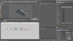 Thinking Particles from Dynamic Collisions using C4D