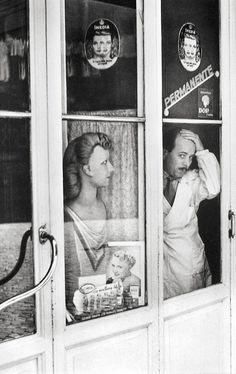 Barber, Rome, Italy, 1951, Henri Cartier-Bresson.