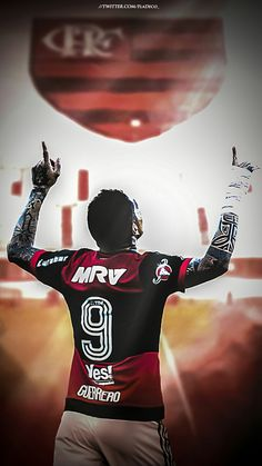Hoje tem MENGÃO!  #Flamengo #Guerrero Soccer, Football, Costa, Characters, Tattoo, Twitter, Warriors, Magick, Fabrics