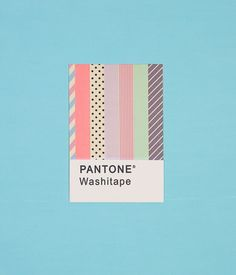 Pantone Washitape
