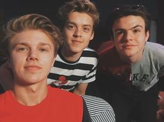 Doing something pretty cool today with Blake Edwards, New Hope Club, A New Hope, Love Again, Im In Love, Bae, Blake Richardson, Reece Bibby, Hollywood Records