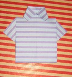 la chemisette en origami Embellissements à faire soi-même Origami, Mens Tops, Shirts, Women, Fashion, Moda, Fashion Styles, Origami Paper, Dress Shirts