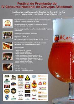 Apoie a cultura cervejeira nacional divulgando o cartaz acima, que pode ser baixado AQUI em tamanho A3. Ainda não garantiu o seu convite? Corra!