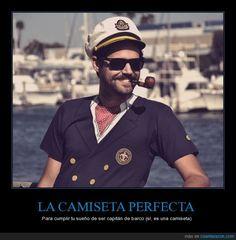 Podrás sentirte como El Capitán de Cómo conocí a vuestra madre - Para cumplir tu sueño de ser capitán de barco (sí, es una camiseta)