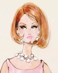 Барби Barbie Illustration by Robert Best Art And Illustration, Illustration Fashion, Fashion Illustrations, Vintage Illustrations, Arte Fashion, Fashion Dolls, Paper Fashion, Fashion Edgy, Fashion Vintage