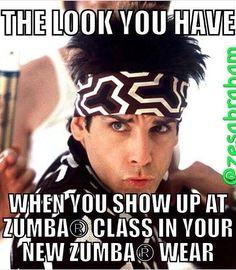 New zumba gear. Serious... Zumba Fitness cpinnell.zumba.com…