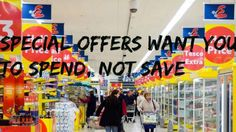 Special offers want you to spend, not save