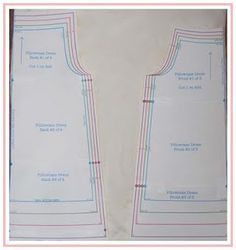 """Free Pillowcase Dress PDF sizes 6 months to size 6.  Great Tutorial for construction. This is for an actual Pillowcase but you can use for pattern, add a 3"""" or 4"""" double hem to gingham, batiste or lightweight fabric, for a high end look."""
