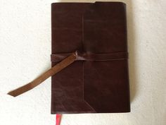 Leather Covered Bible Recovered  NLT Slimline by RusticJournals, $55.00
