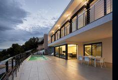 Casa diseño frente al mediterráneo