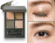 「この色無理」は思い込み!【カーキ・グレー】はこうやって使いこなす!|長井かおりテク|河津美咲|ビューティニュース|VOCE(ヴォーチェ)|美容雑誌『VOCE』公式サイト Makeup Inspo, Beauty Makeup, Eye Makeup, Dog Teeth, Best Candles, Korean Makeup, Gyaru, Makeup Looks, Beauty Hacks