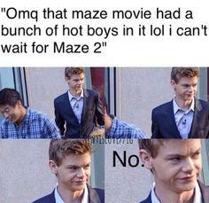 The Maze Runner Jokes - No.