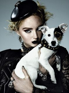 Love the accessory pup!