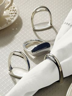 Gorgeous Equestrian themed home decor. Derbyshire Napkin-Ring Set - Dinnerware Tabletop - RalphLauren.com