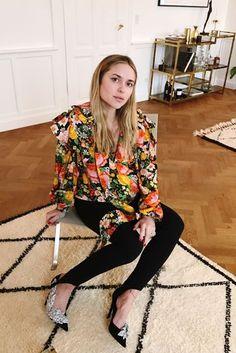 Pregnancy Dressing | Pernille Teisbaek's New Season Pregnancy Style Tips | British Vogue
