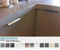 ante per cucina in alluminio e vetro   Cambiare le ante della cucina ...