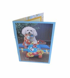 Miniature Toy Poodle Card Toy Poodle Greeting Card by Lillyzcardz, $4.00